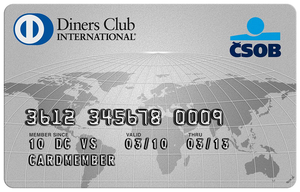 Diners Club platební karta