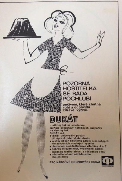 40 let staré reklamy