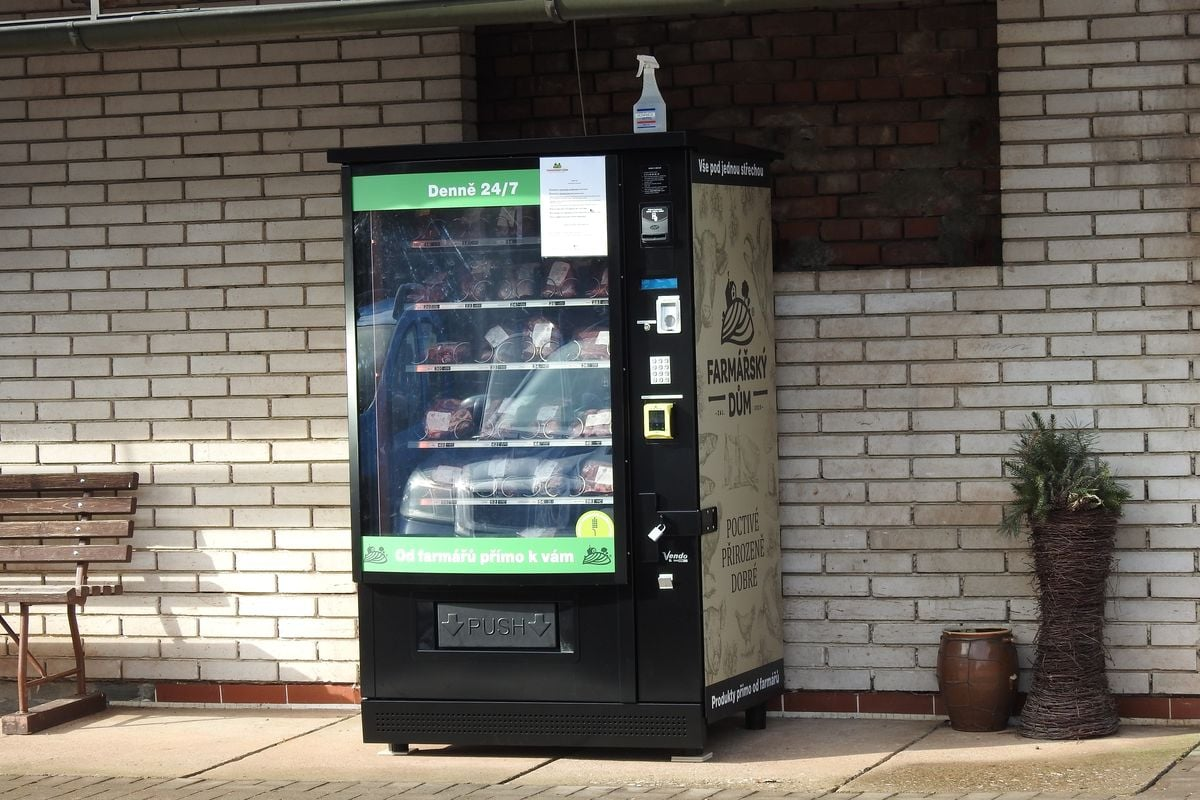 Farmářský dům: automat na maso