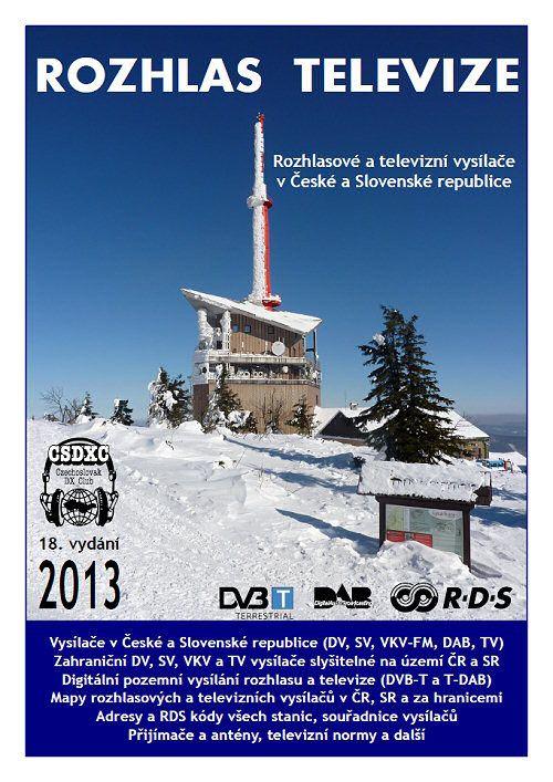 Obálka publikace Rozhlas televize, která se dočkala v roce 2013 svého 18. vydání
