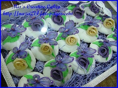 Svatební cupcaky