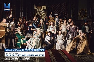 Viasat - Vítězná grafika Empire of the Tsars.