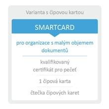 Sefira - kvalifikovaná pečeť SMARTCARD
