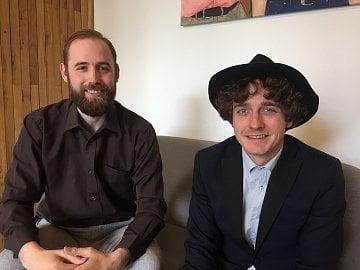 Martin Kotek (vlevo) a Jakub Stejskal, Czech VR Fest