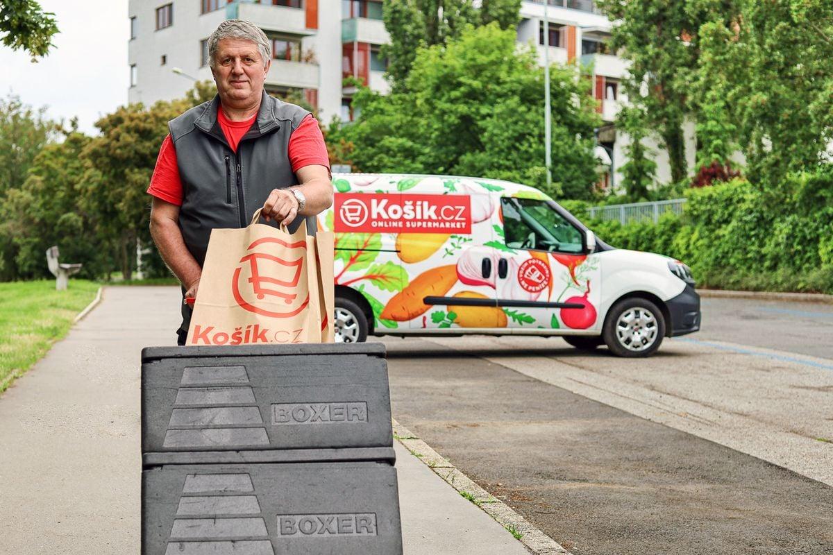 Online supermarket Košík
