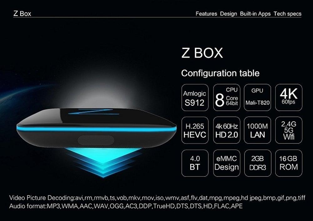 Z Box – varianta 2