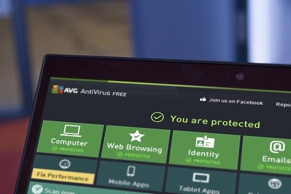 Antivirový program AVG ANTIVIRUS FREE