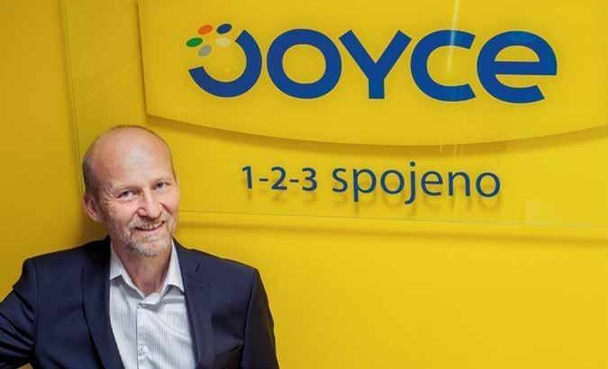 Petr Jarošík, jednatel a zakladatel společnosti Joyce ČR.