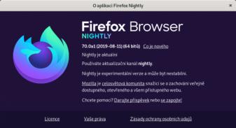 Firefox nové logo