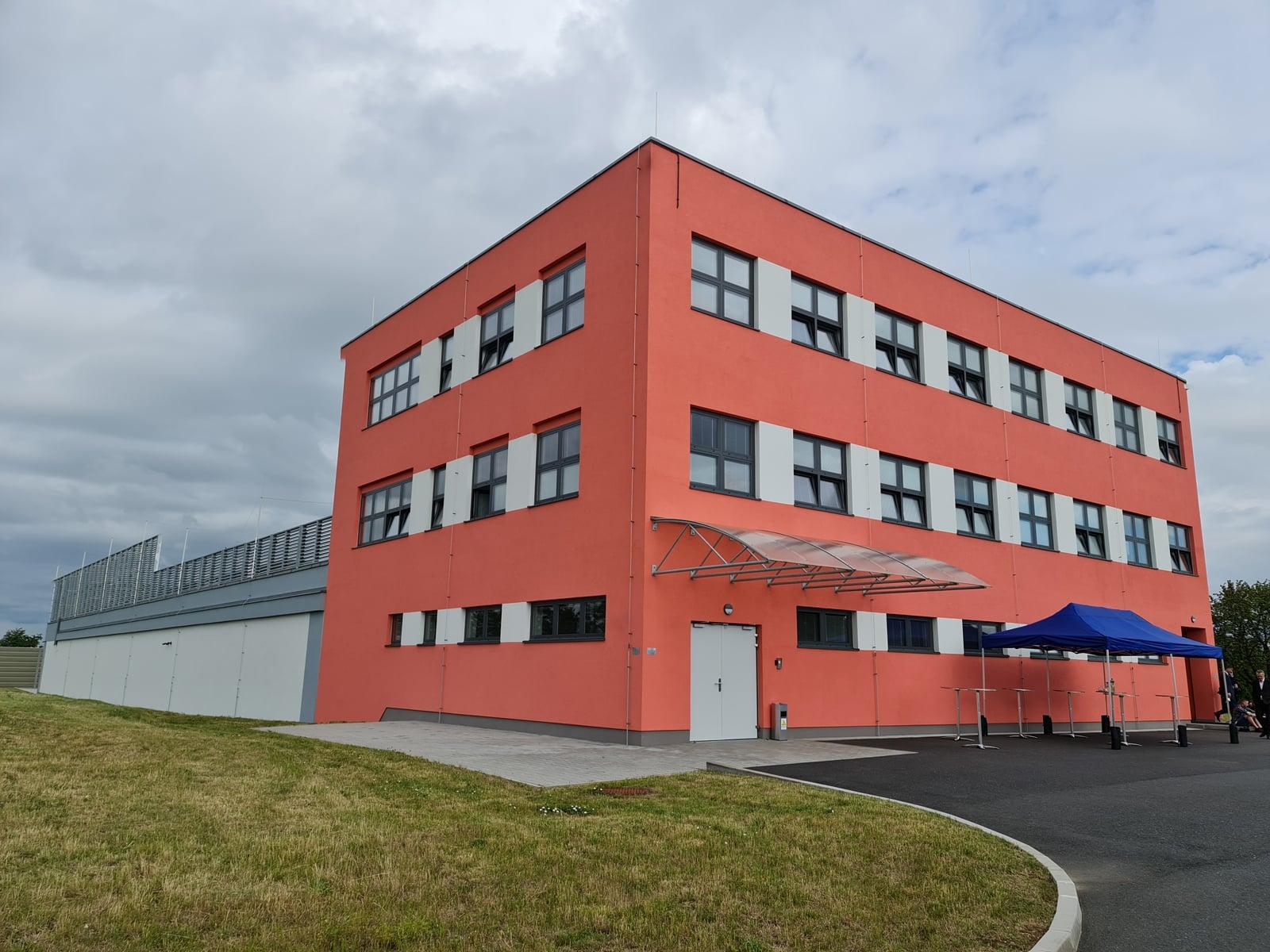 Státní datové centrum v Zelenči u Prahy