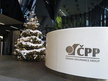 Vánoční stromek na centrále