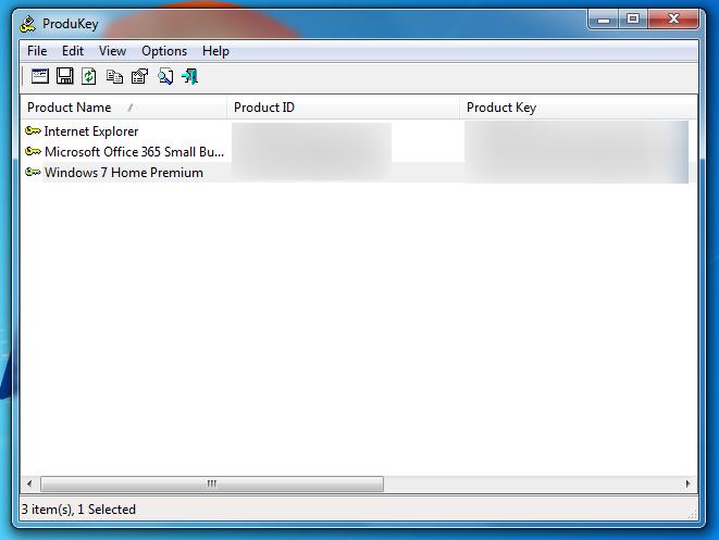 Utilita ProduKey vám zdarma zjistí produktový klíč vaší verze Windows