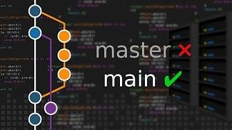 Git master main