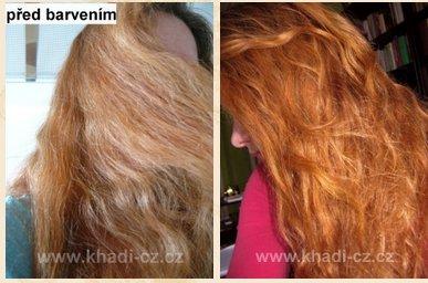 Henna a přírodní barvení vlasů