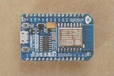 V1 (0.9) - špecifický hranatý tvar - prevodník CH340 - čip ESP8266-12