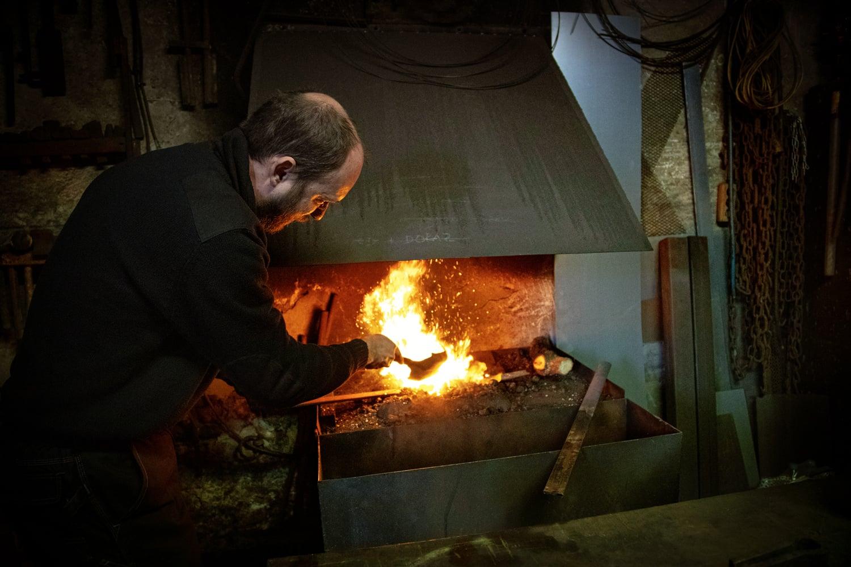 Podívejte se do kovářské dílny