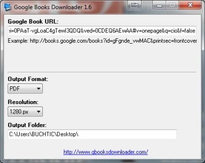Google Books Downloader stahuje eknihy z Google Books