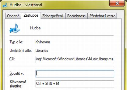 Jak nastavit klávesovou zkratku pro složky/aplikace ve Windows