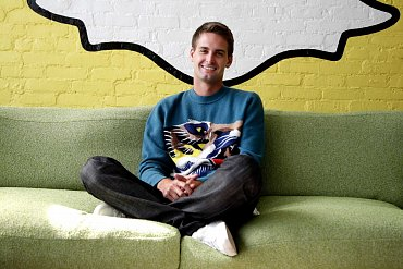 Evan Spiegel, teprve 23letý spoluzakladatel aCEO Snapchatu