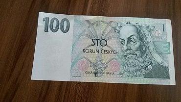 Nová bankovka, kterou jsme obdrželi od ČNB výměnou za poškozenou bankovku.