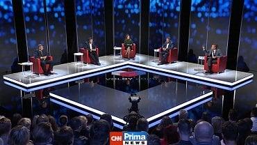Předvolební debata CNN Prima News za účasti diváků (1. září 2021)