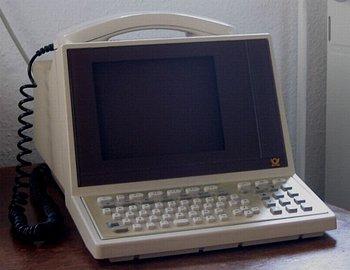 Terminál BTX kombinovaný s telefonem