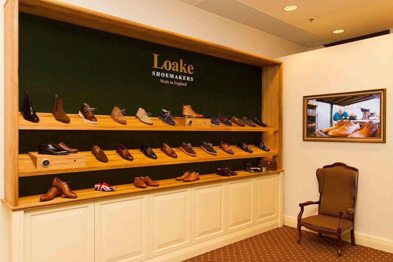 První prodejna firmy Loake v kontinentální Evropě