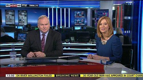 Britský zpravodajský kanál Sky News se snaží nabízet v HD většinu obsahu.