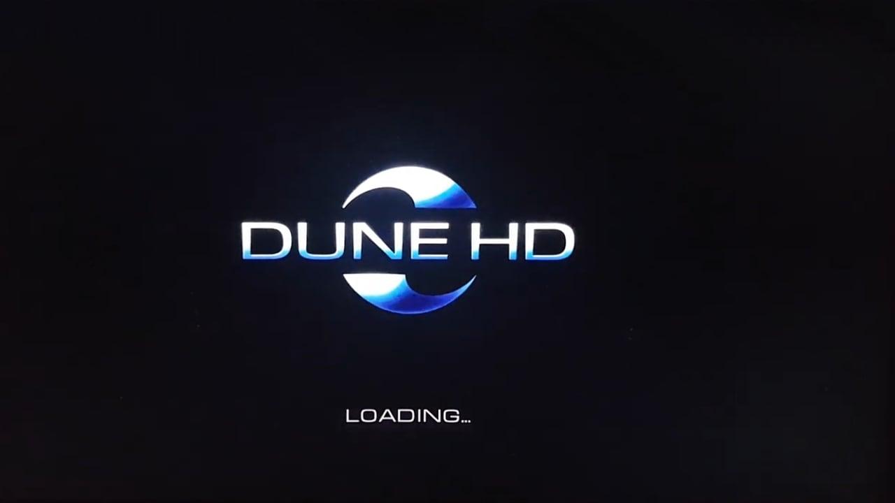 Uživatelské rozhraní Dune HD – menu Nastavení
