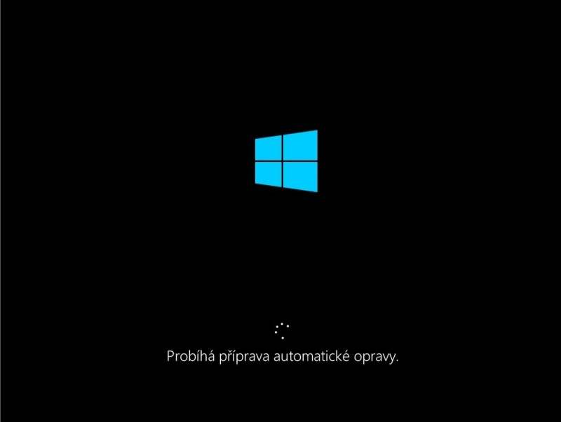 Příprava automatické opravy Windows 10