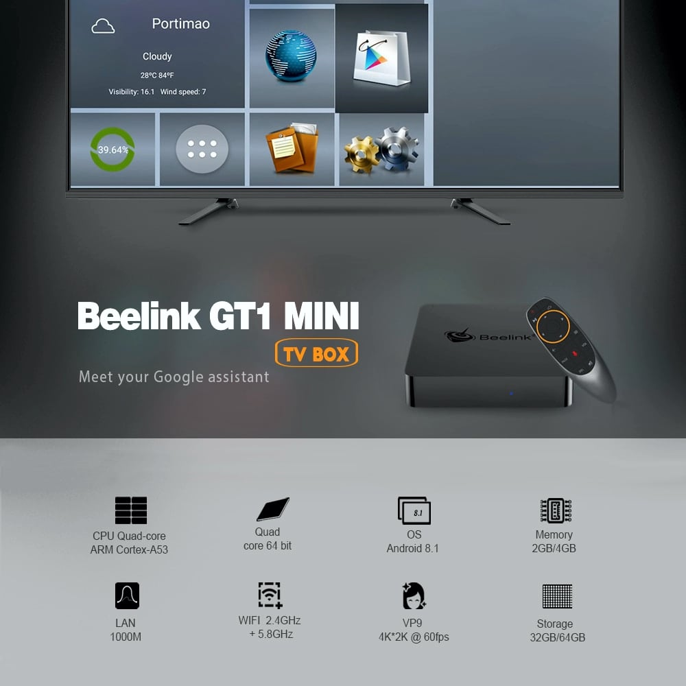 Beelink GT1 mini - firemní materiály