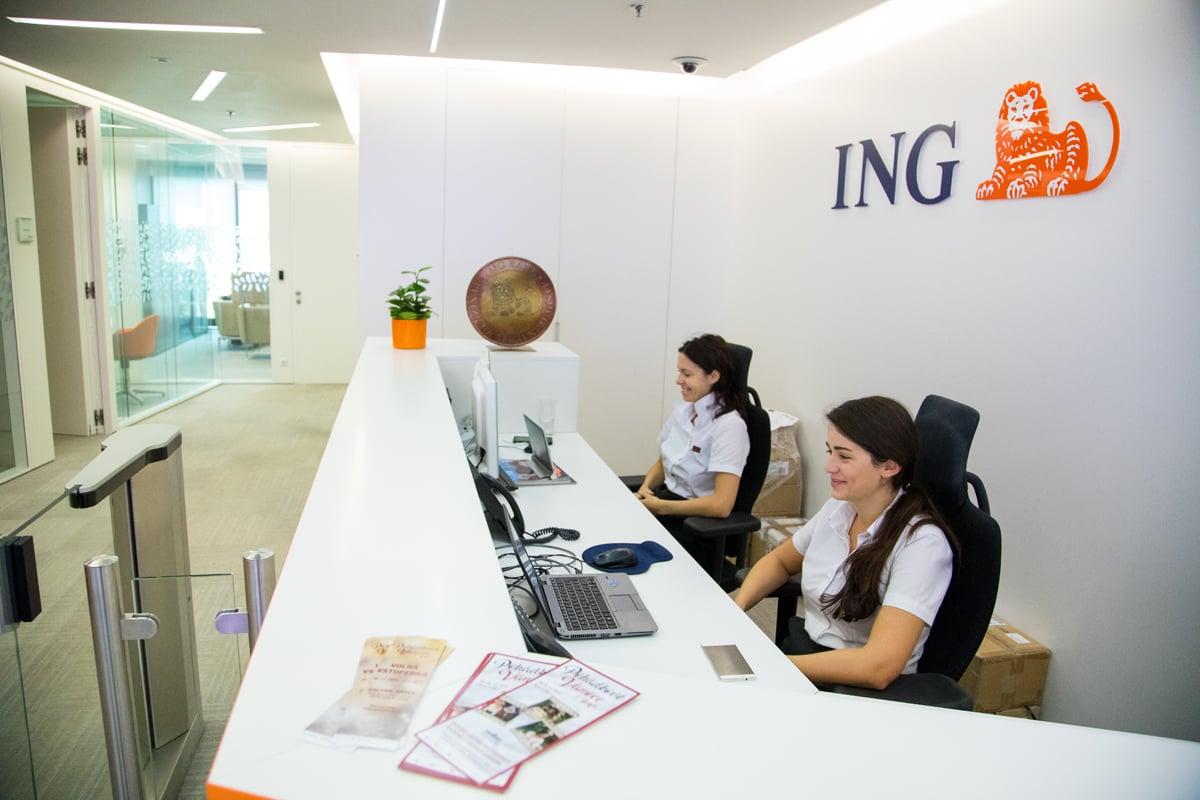 ING Bank na návštěvě
