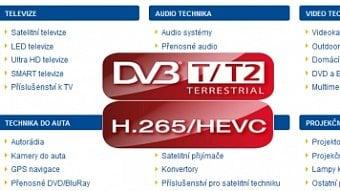 DigiZone.cz: Jsou obchody připraveny na DVB-T2/HEVC?