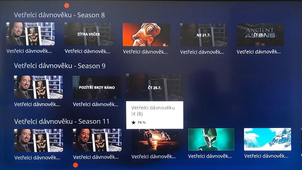 Více sezon pořadu napříč stanicemi