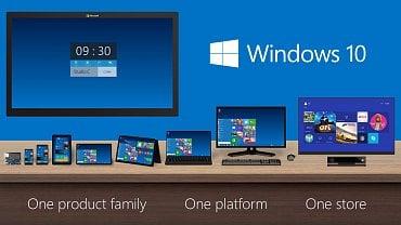 Windows 10 - plány na jednotnou platformu