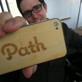Dave Morin - výkonný ředitel Path