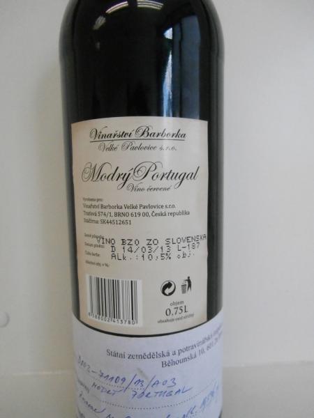 Falšované víno