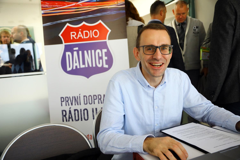 Tisková konference rádia Dálnice