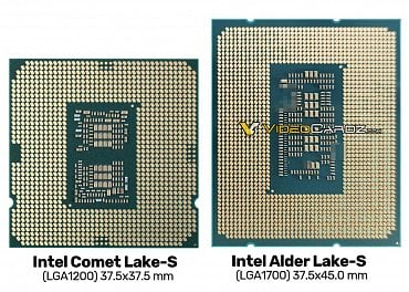 Intel LGA1200 vs LGA1700