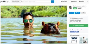 Komerční profil muže na obrázku. Jde o volně dostupný obrázek z fotobanky.