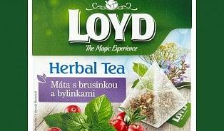 Mátový čaj Loyd obsahuje toxické látky ovlivňující psychiku