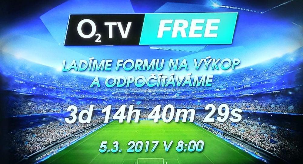 O2 TV Free - spuštěna smyčka, 1. 3. 2017