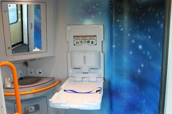 Toalety LEO Express