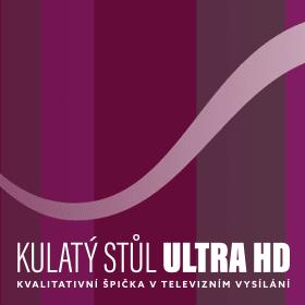 Logo Kulatý stůl Ultra HD: kvalitativní špička v televizním vysílání
