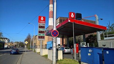 Čerpací stanice Benzina v Ostravě (21. 4. 2020)