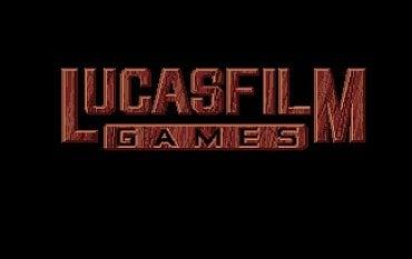 The Secret of Monkey Island - logo LucasArts. Amiga. Zde je použit větší počet barev a na vizuálu je to znát.