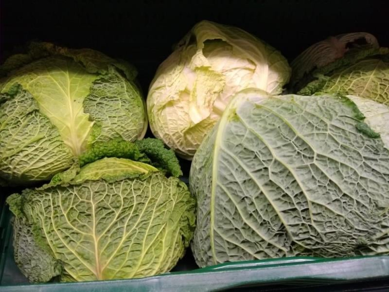 Zelenina s pesticidy