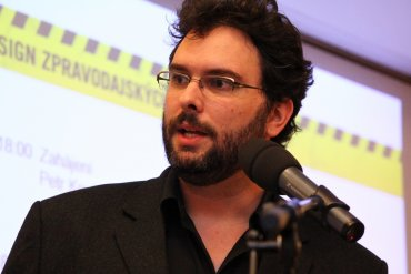Erik Tabery, šéfredaktor Respektu