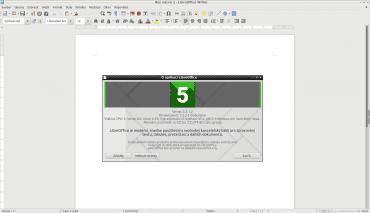 LibreOffice 5.3.1.2 v Lubuntu 17.04