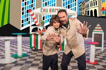 Déčko - Emanuel a Giacomo v pořadu Čau Bambini